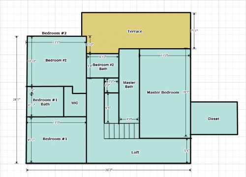 Upstairs Plans