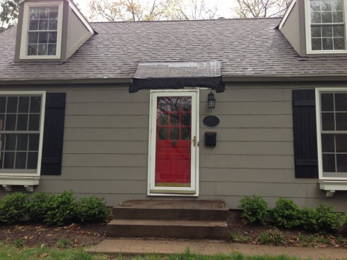 AFTER - Front Porch Demo