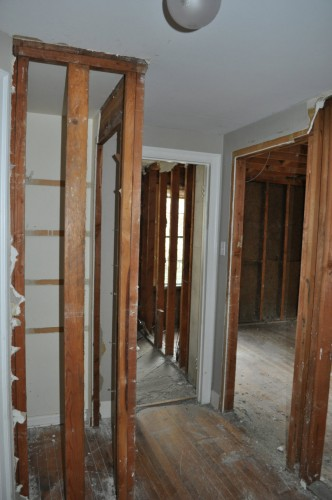 Hallway to Master Bathroom