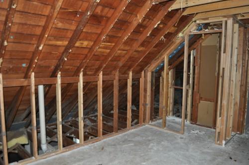 Upstairs Bedroom Demo Complete 2