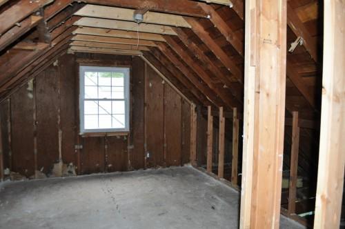 Upstairs Bedroom Demo Complete