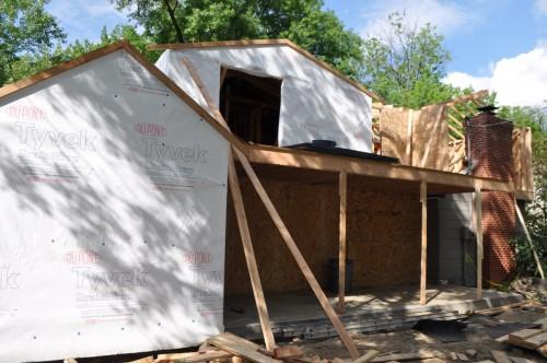 Back - New Porch