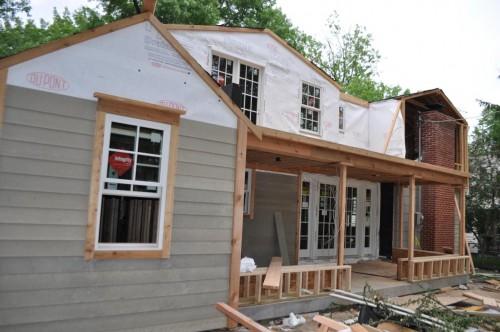 Back of House Siding Start 2