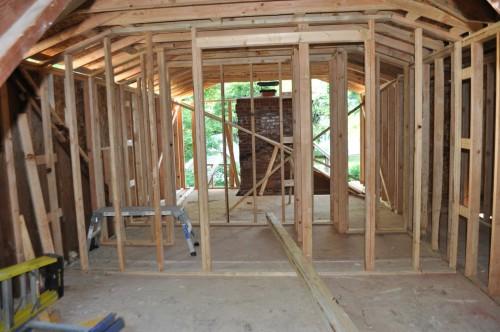 Bedroom 1 Framing 3