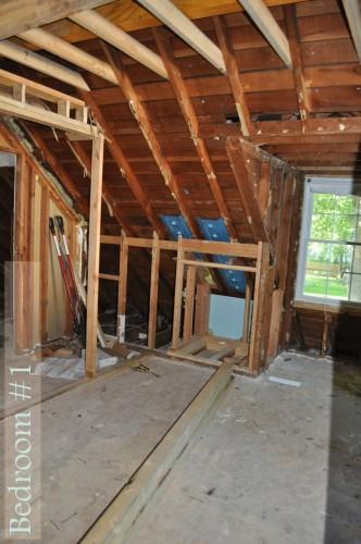 Bedroom 1 Framing