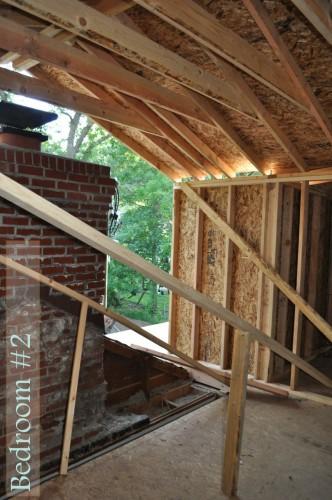 Bedroom 2 Framing 2