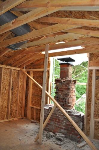 Chimney Rebuild Start (3)