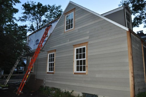 East Side of the House - Full Siding