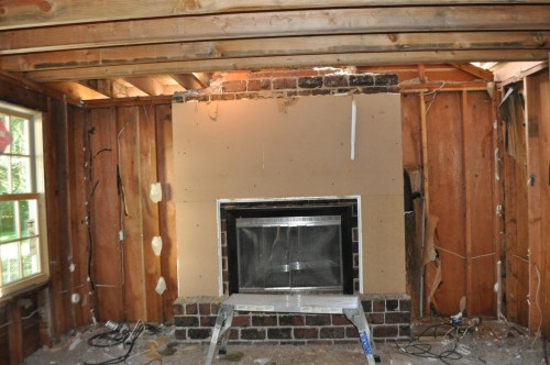 Fireplace Teardown