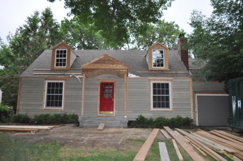 Front of the House Final Siding
