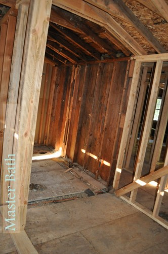 Master Bath Framing 2