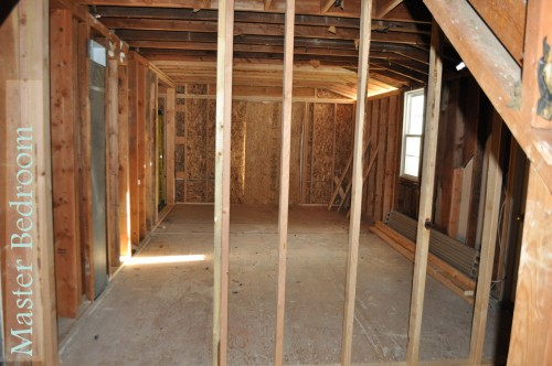 Master Room Framing