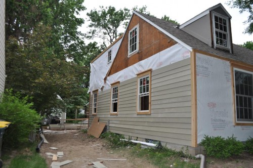 Side Start of Siding