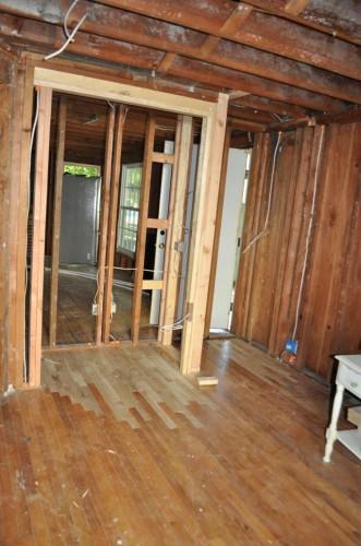 Alexas Room Unfinished New Wood Floors