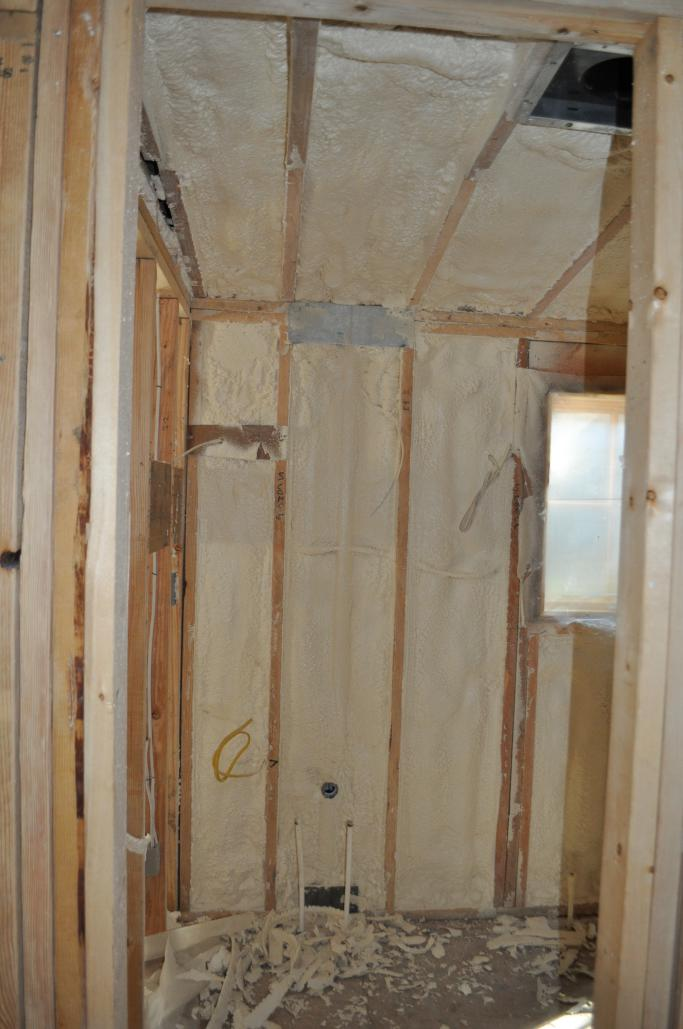 Bedroom 2 Bathroom   Insulation