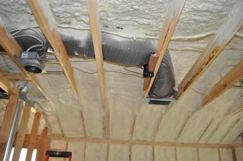 Bedroom 2 Ceiling - Insulation