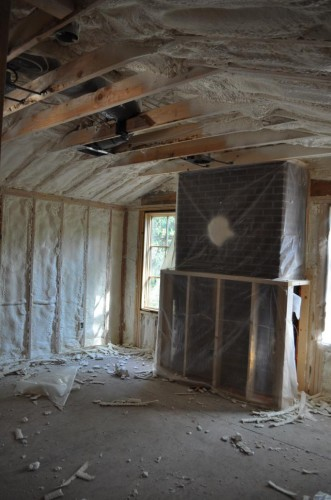 Bedroom 2 - Insulation