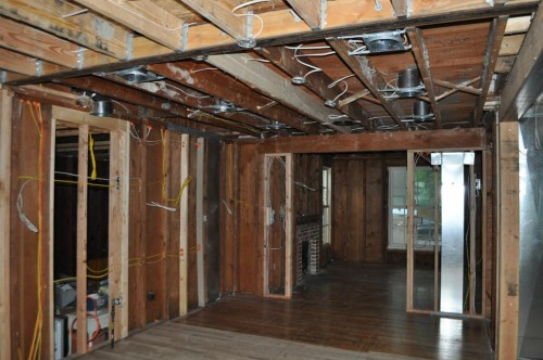 Before Kitchen - Insulation (2)