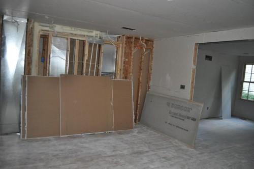 Dining Room - Sheetrock (2)