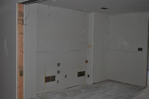 Dining Room - Sheetrock