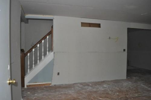 Front Room - Sheetrock (3)