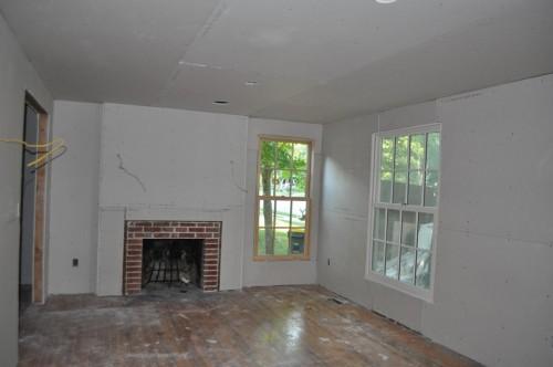 Front Room - Sheetrock (4)