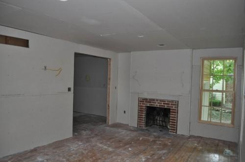 Front Room - Sheetrock