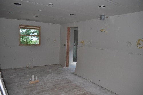 Kitchen - Sheetrock (2)