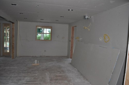 Kitchen - Sheetrock (3)
