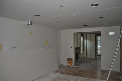 Kitchen - Sheetrock