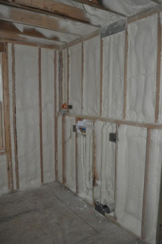 Laundry Room - Foam Insulation (3)