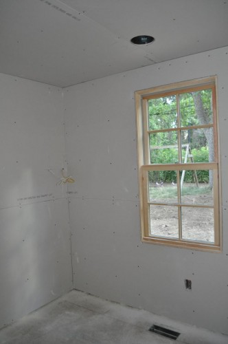 Laundry Room - Sheetrock