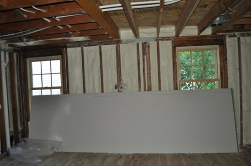 Living Room - Insulation
