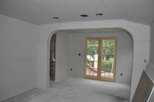 Master Bedroom - Sheet Rock (2)