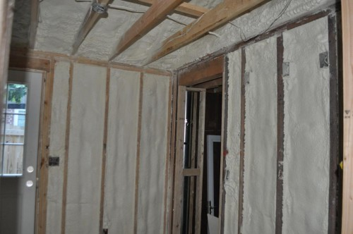 Mud Room - Foam Insulation