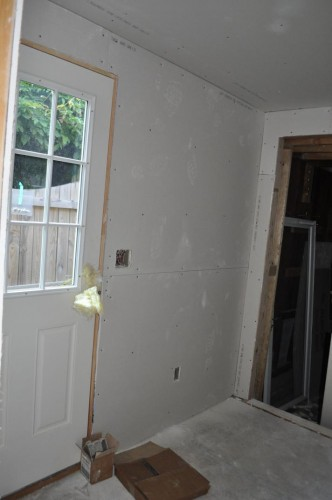 Mudroom - Sheetrock (2)