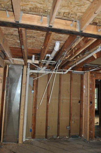 Start of Plumbing