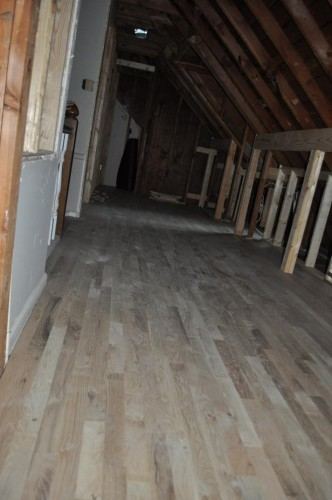 Upstairs Hallway - New Wood Floors
