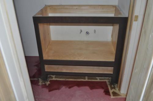Bathroom- Vanity Stain (2)