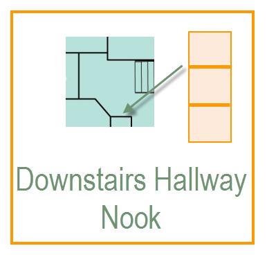 Downstairs Hallway Nook
