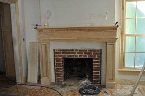 Front Room Fireplace Start