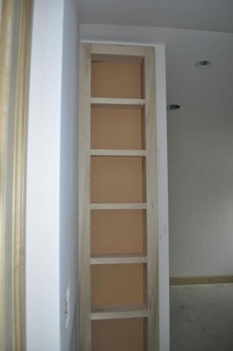 Maren's Bedroom Bookcase Nook Trim (2)