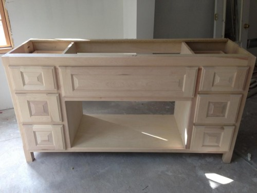 Master Bathroom Vanity - Cabinets