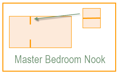 Master Bedroom Wall Nook