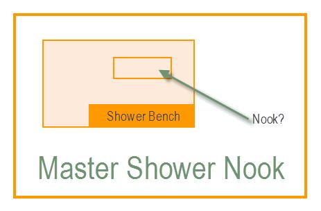 Master Shower Nook