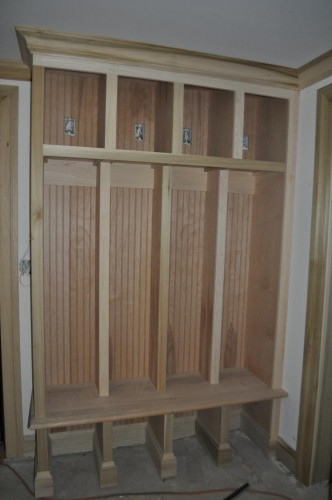 Mudroom Lockers Redo