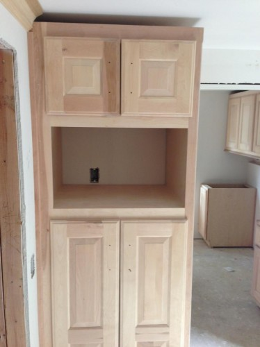 Mudroom Pantry - Cabinets