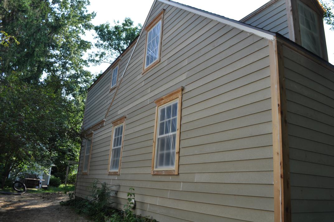 Exterior paint prep and more tiling village cape codvillage cape cod - Painting preparation exterior photos ...