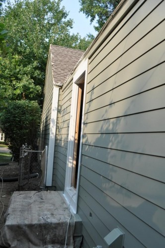 West Side of the House - Base Paint