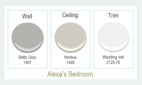 Alexa's Bedroom Paint Colors